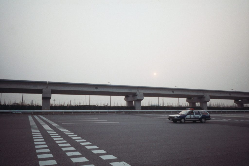 Highway outside Shanghai