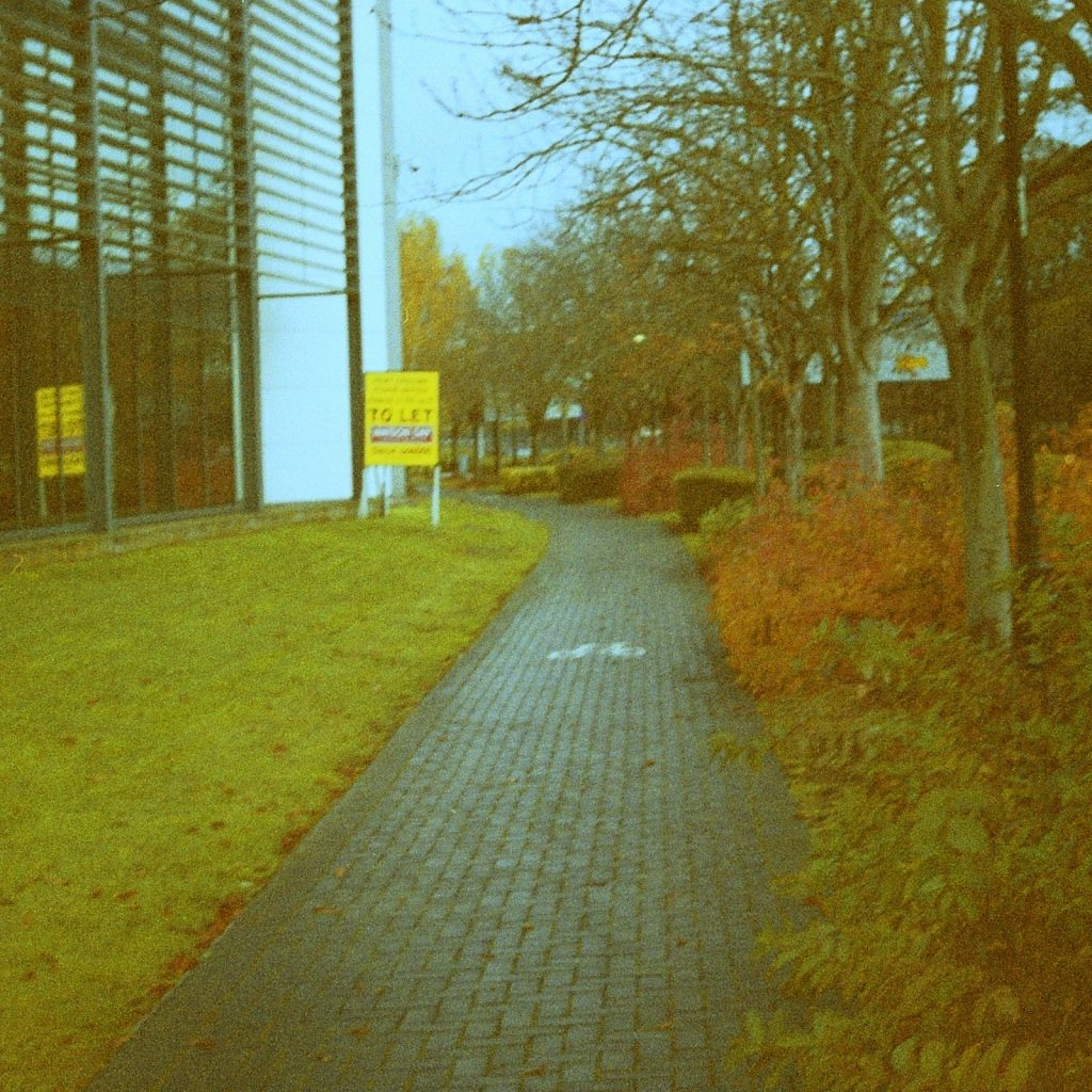 footpath between offices