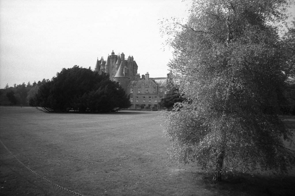 Glamis Castle grounds