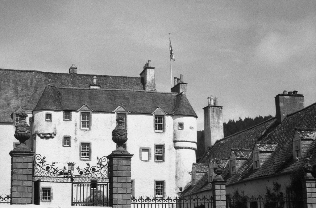 Traquair House detail