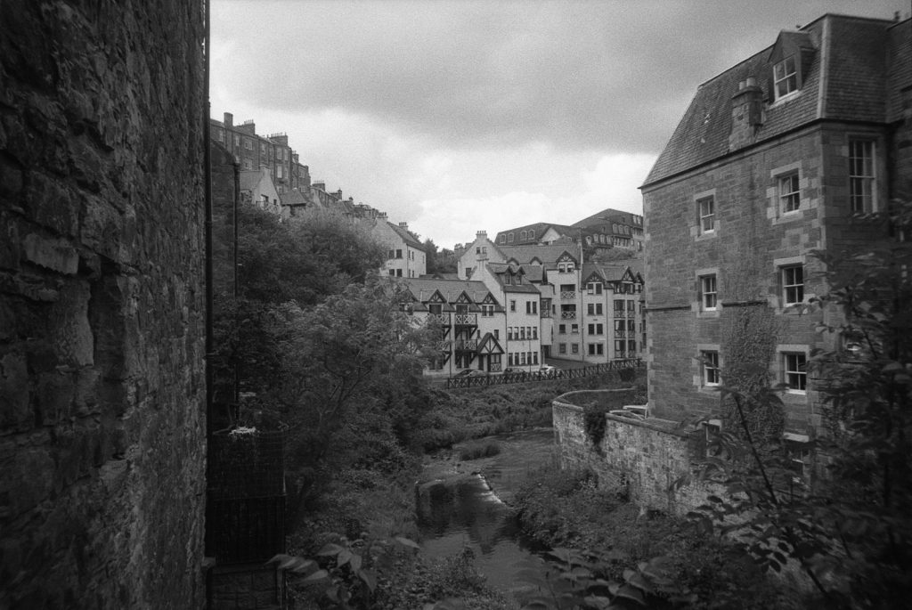 View of Dean Village
