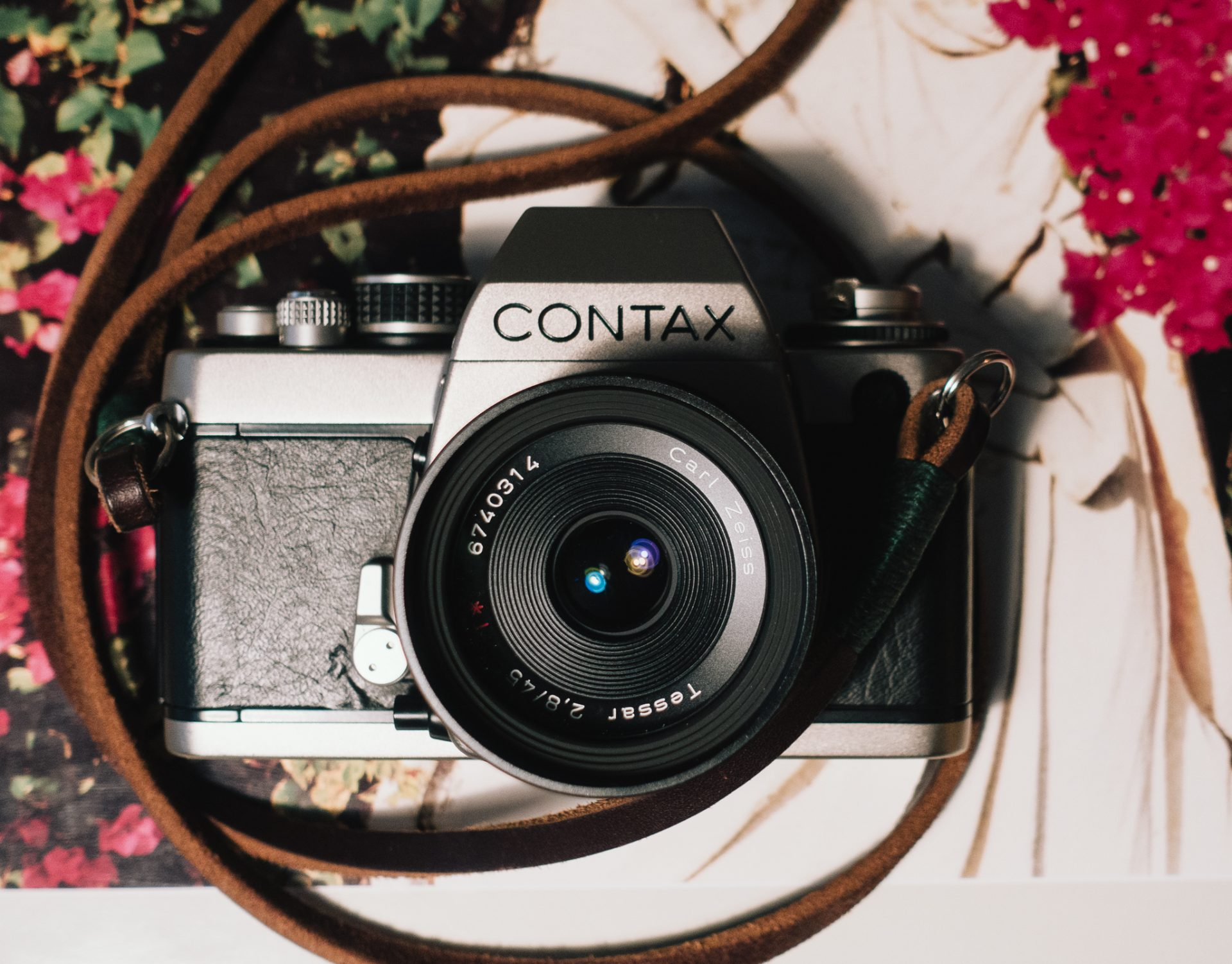 Contax S2 front