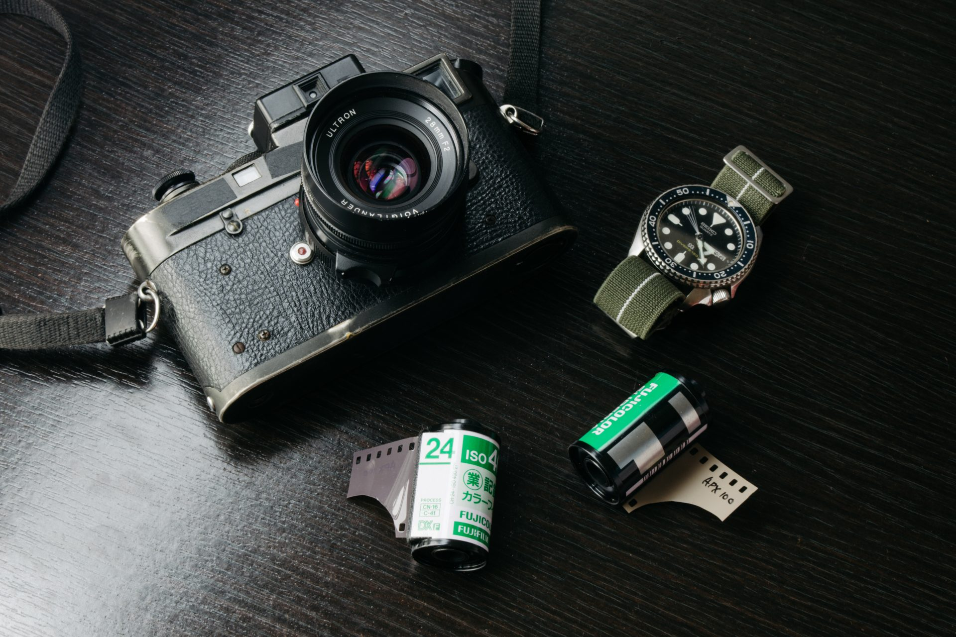 Leica with Agfa APX 100