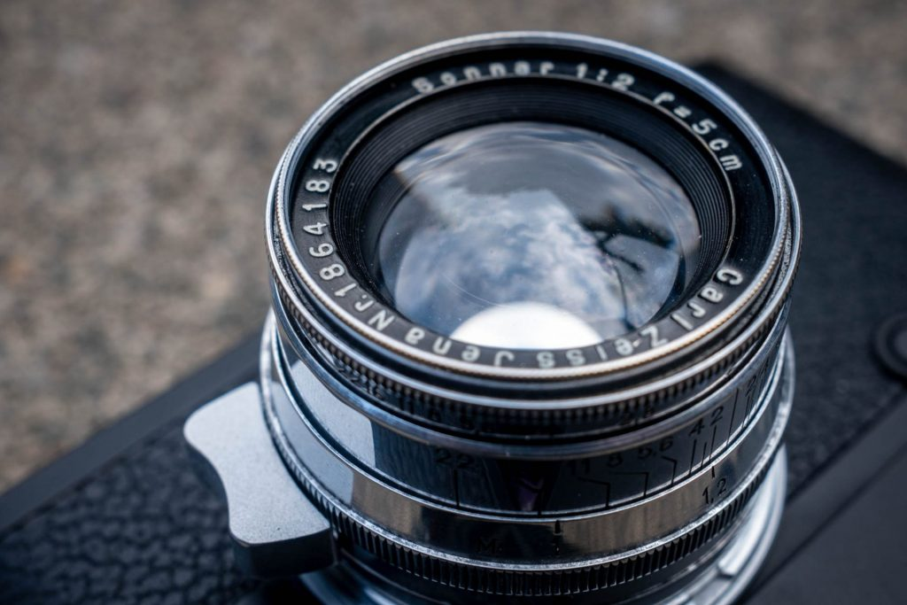 uncoated 50mm f/2 Sonnar