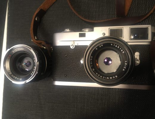 Leica M2, 50mm Summicron V5 and 35mm Zeiss Biogon f2