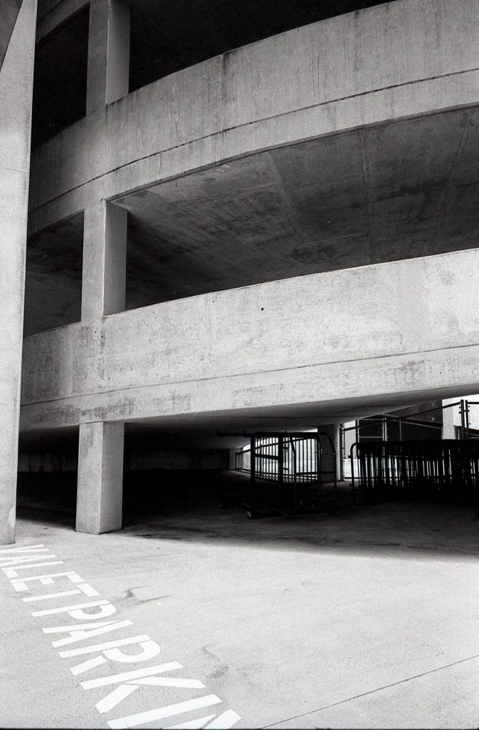 Parking Garage Leica M6 400tx Elmarit 28