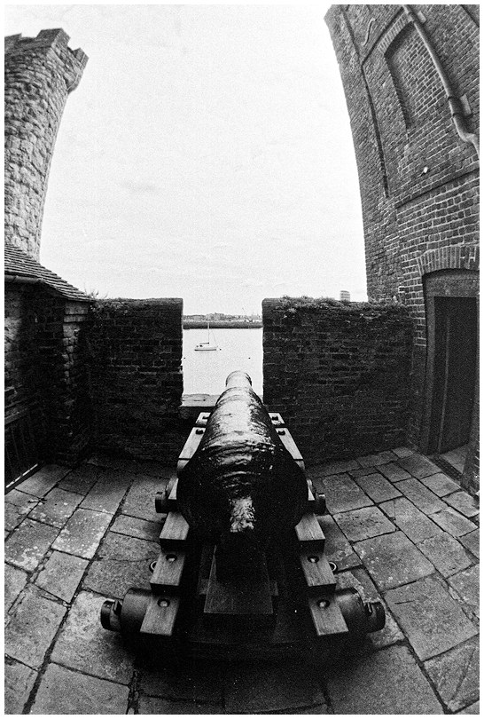 Cannon at Upnor Castle