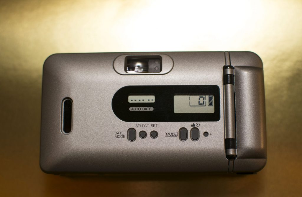 Konica Big Mini F back