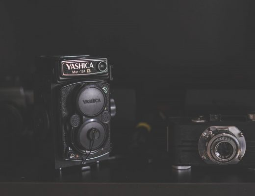 The Yashica that helped me get married