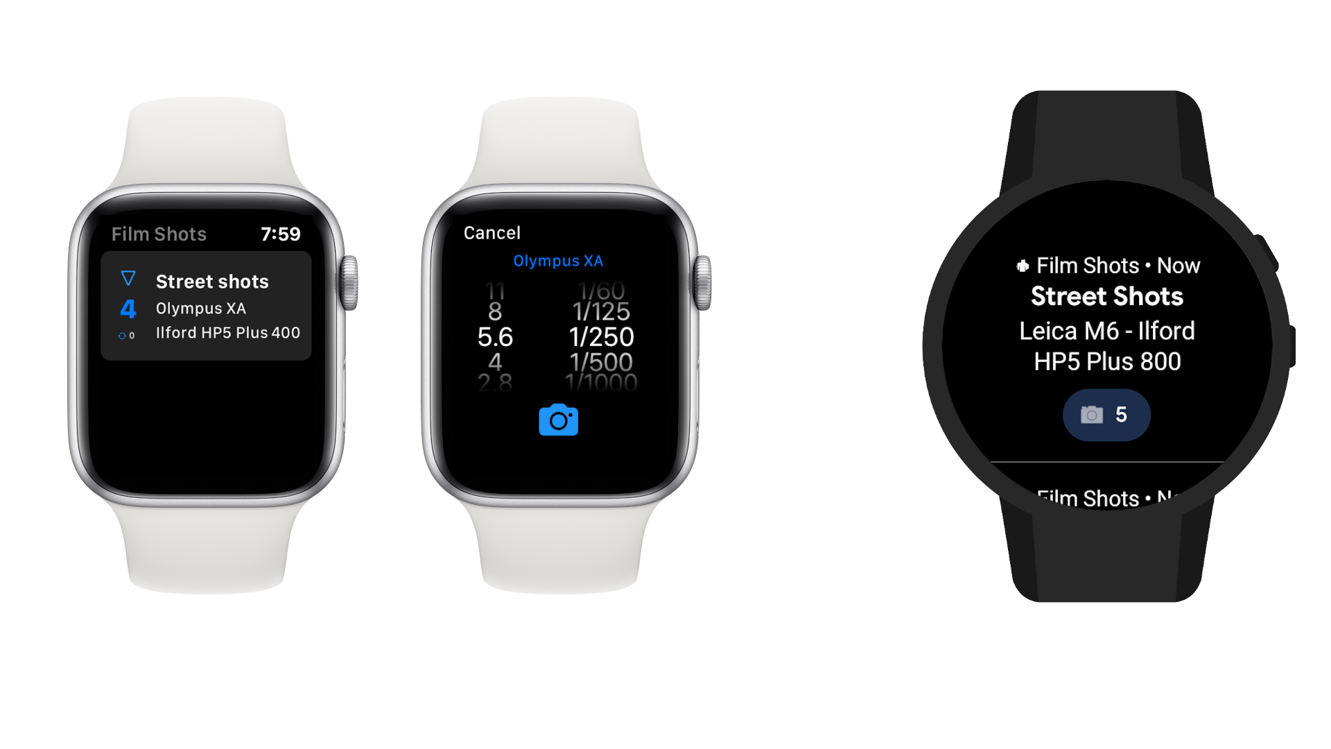 Apple Watch and Android Wear
