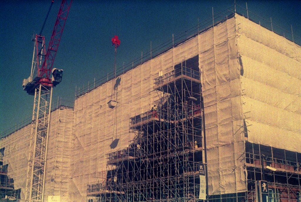 photo of building under construction