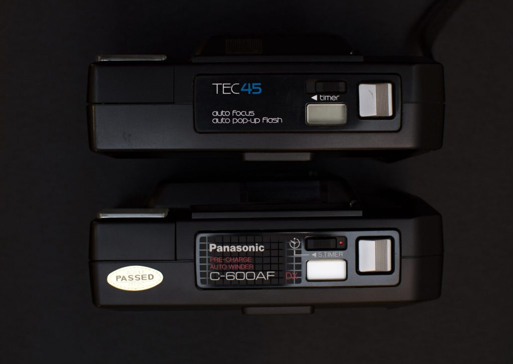 Vivitar Tec 45 & Panasonic C-600 Top