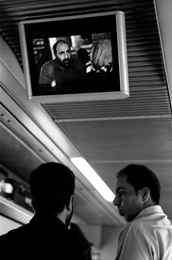 The train from Tehran to Mashhad.