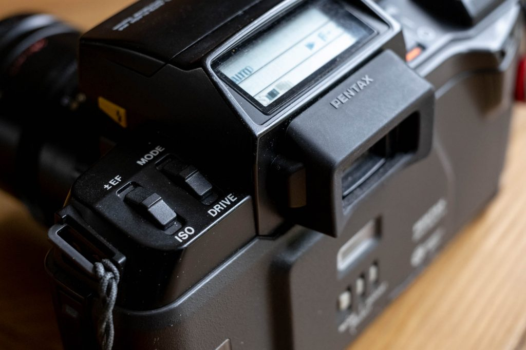 Pentax SFX control switches