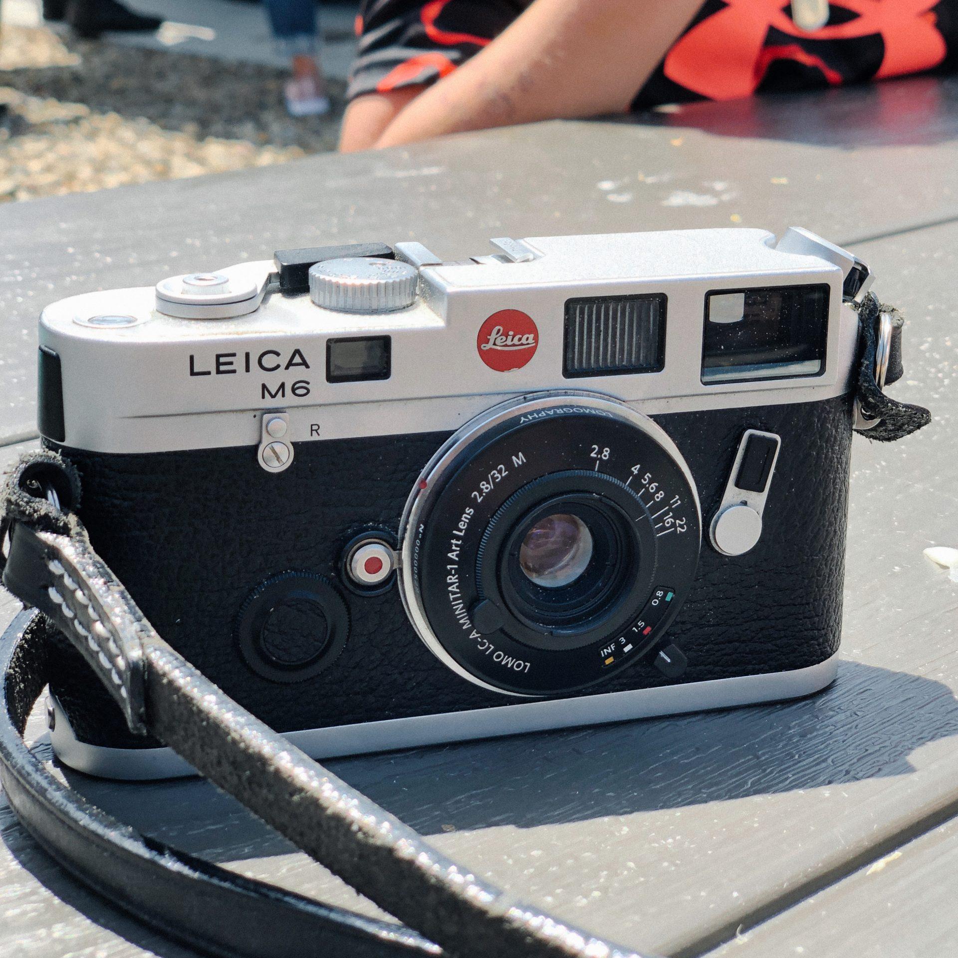 Leica M6, Lomography Minitar