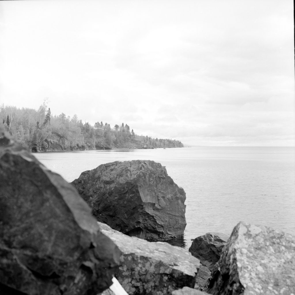 North Shore tanken with Rolleiflex 2.8C