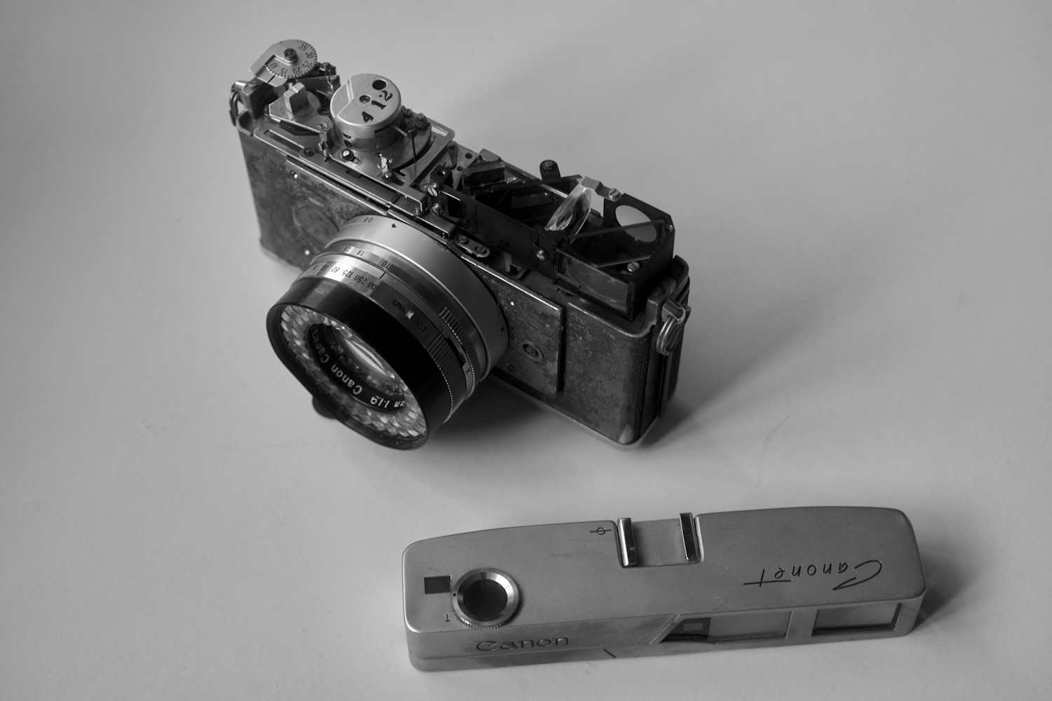 It's Dead Jim – A Dissection of an Old Rangefinder Camera - By Bob Janes - 35mmc