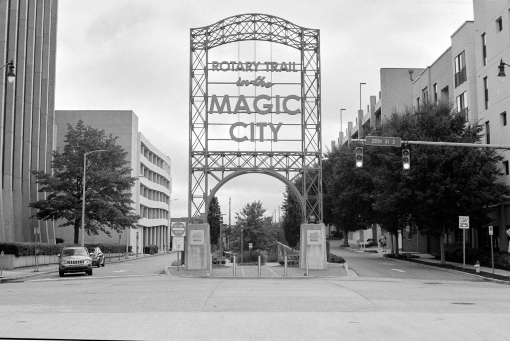 Magic City sign in downtown Birmingham