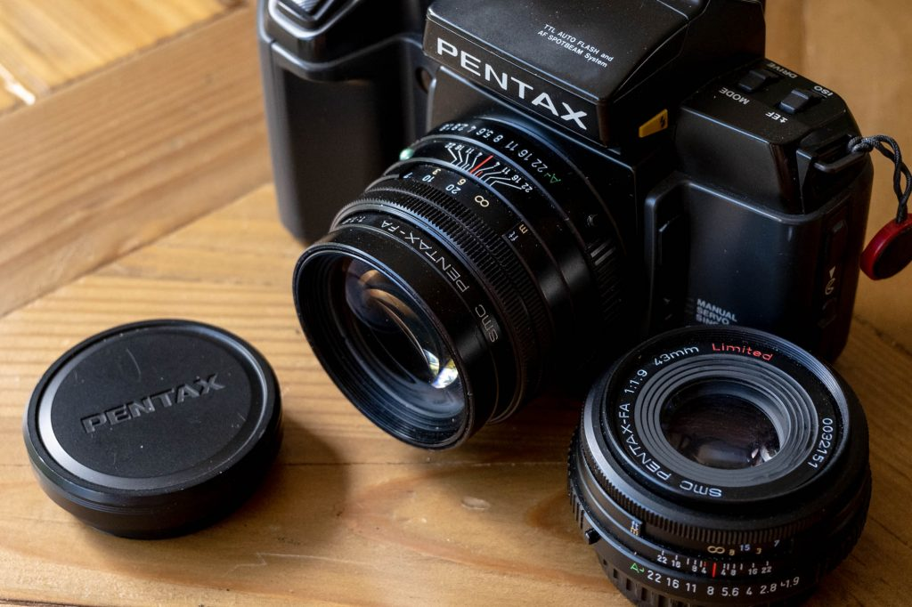 Pentax 77mm Limited with 43mm