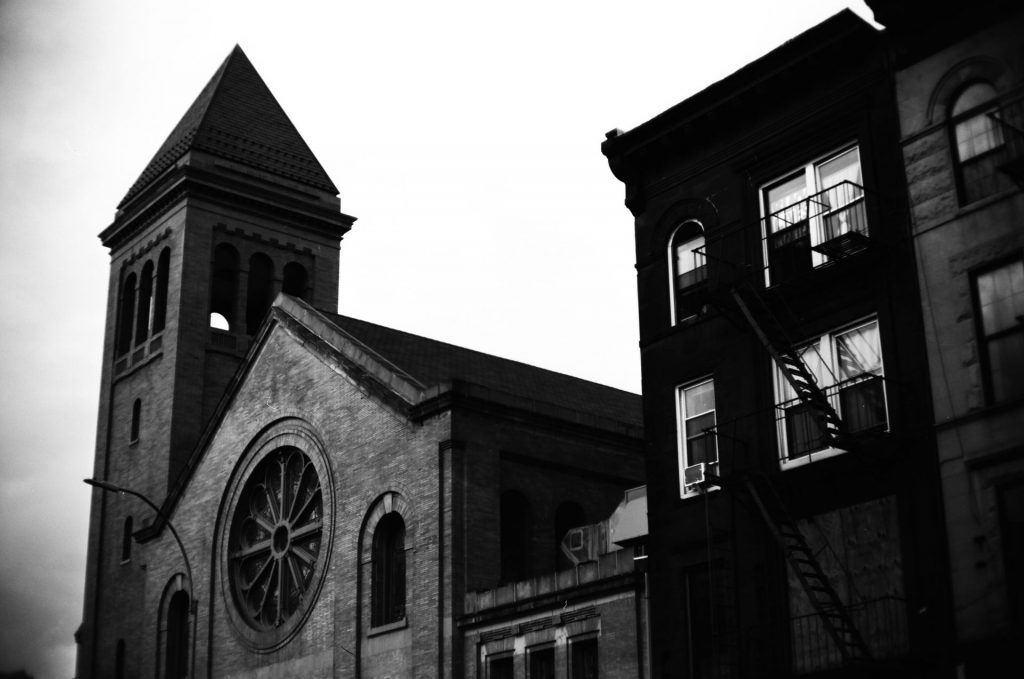 Church and Building in Brooklyn