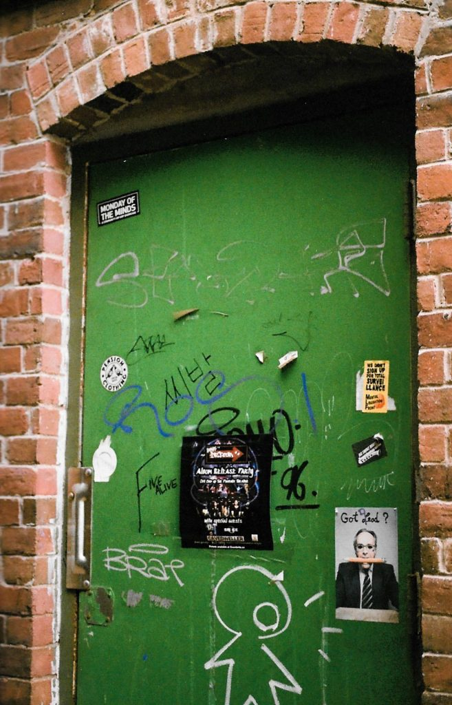 Green Door off of Water Street