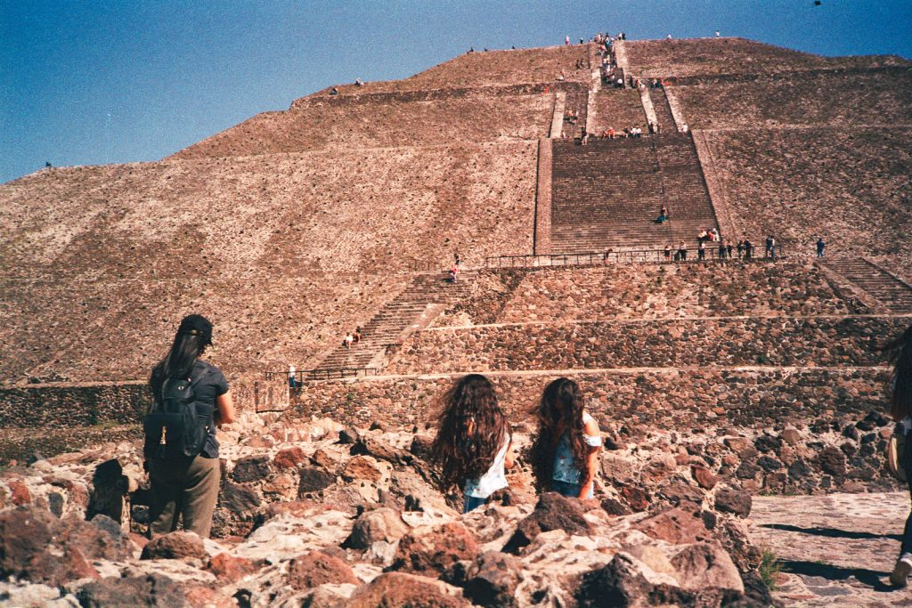 Pyramid of the Sun Teotihuacan Mexico 2019