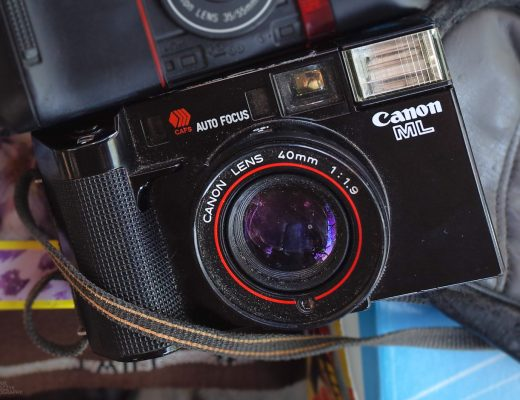 "Canon AF35ML ""Super Shure Shot"""