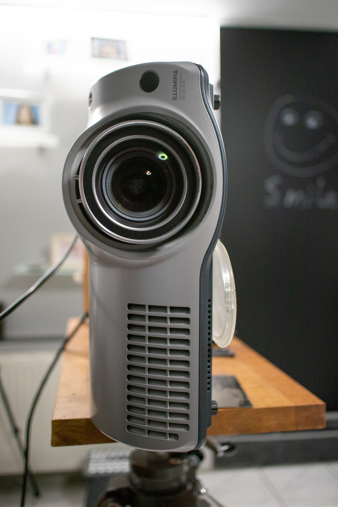 video projector from a friend . thanks a lot Wolfgang!