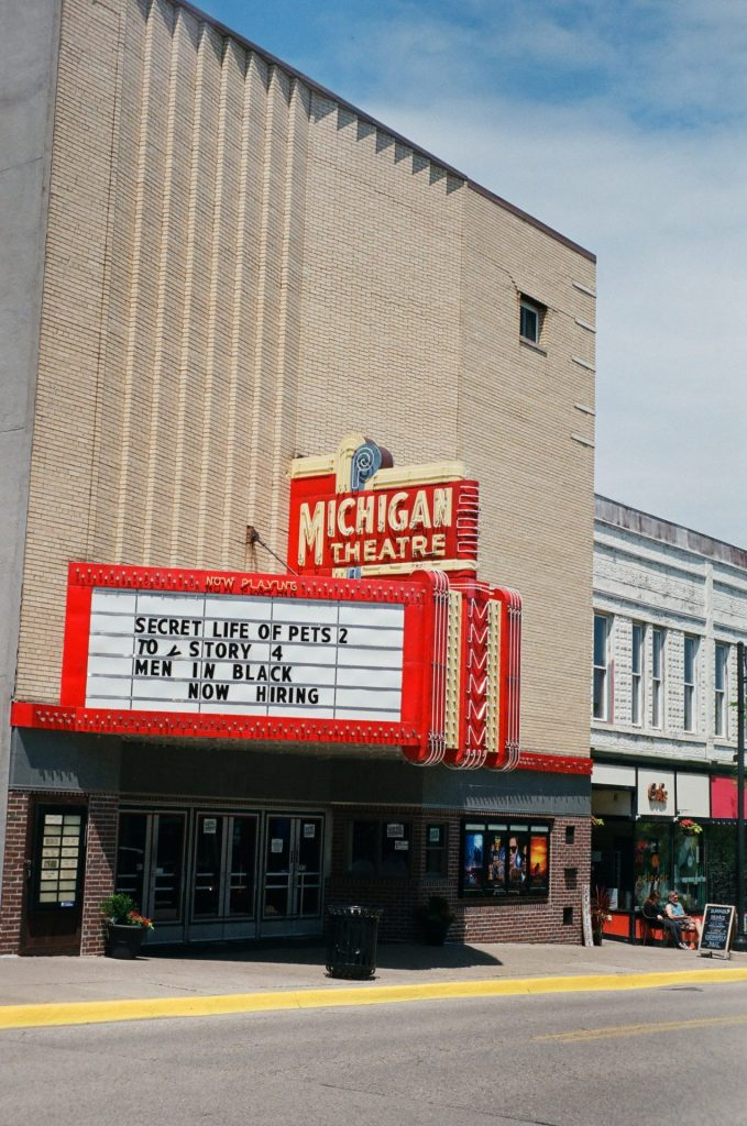 An afternoon with the C4. Michigan Theatre, South Haven, MI