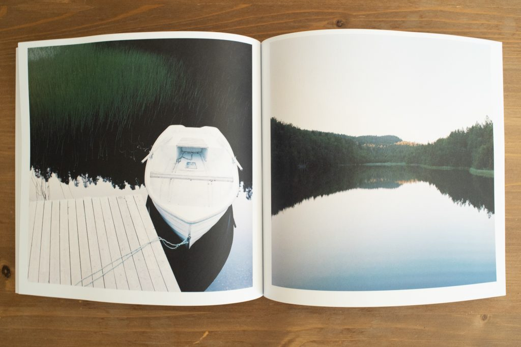 An inside spread of Arctic Norway