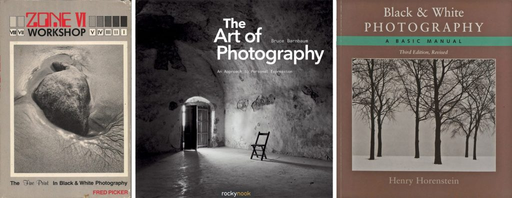 Three books with three different approaches to printing contact