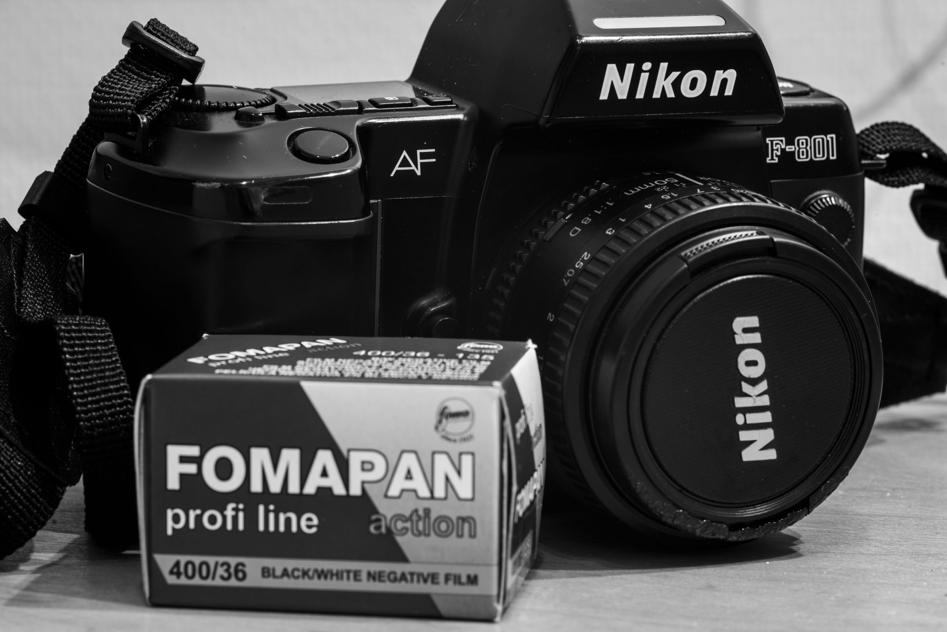 F801 and fomapan