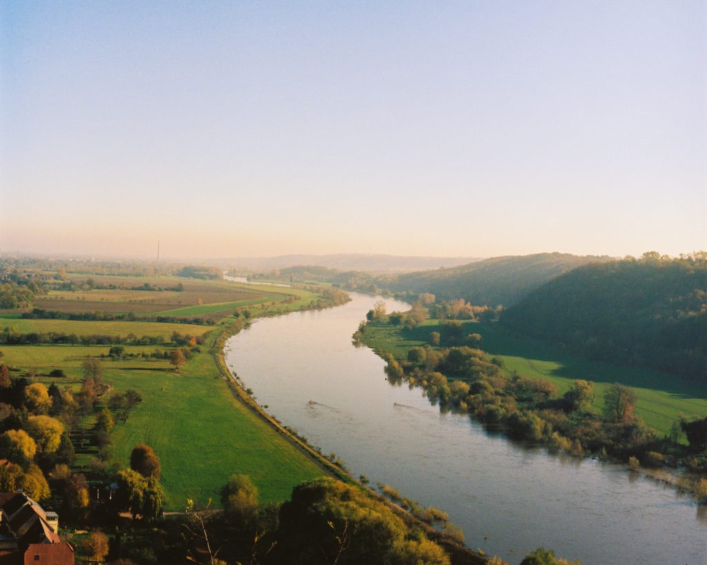 View of river Elbe