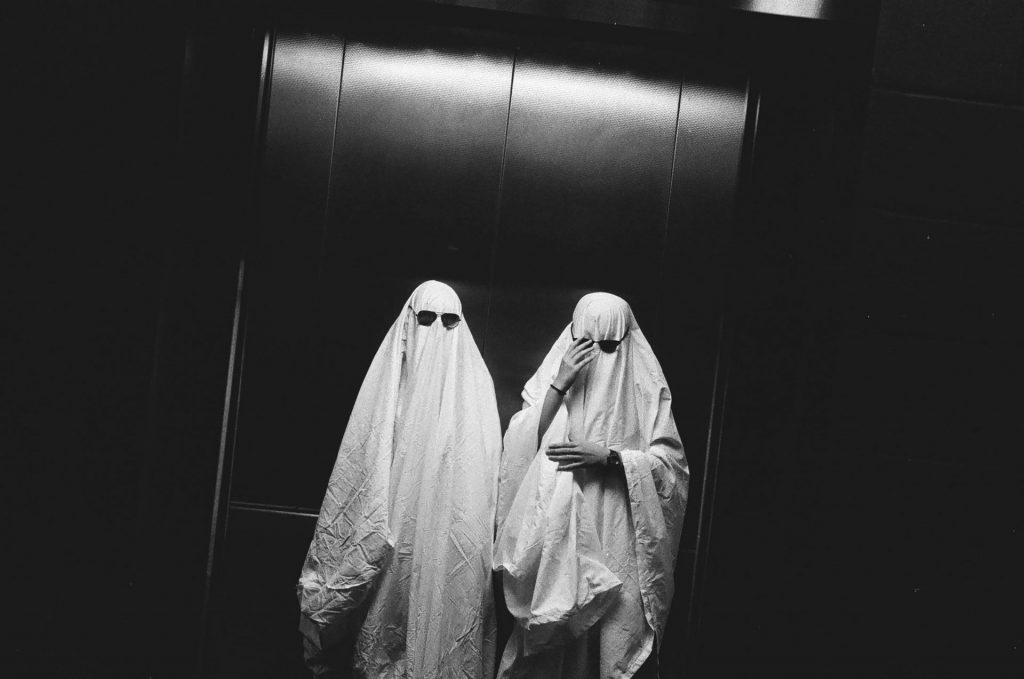 Crooked Ghosts in an Elevator