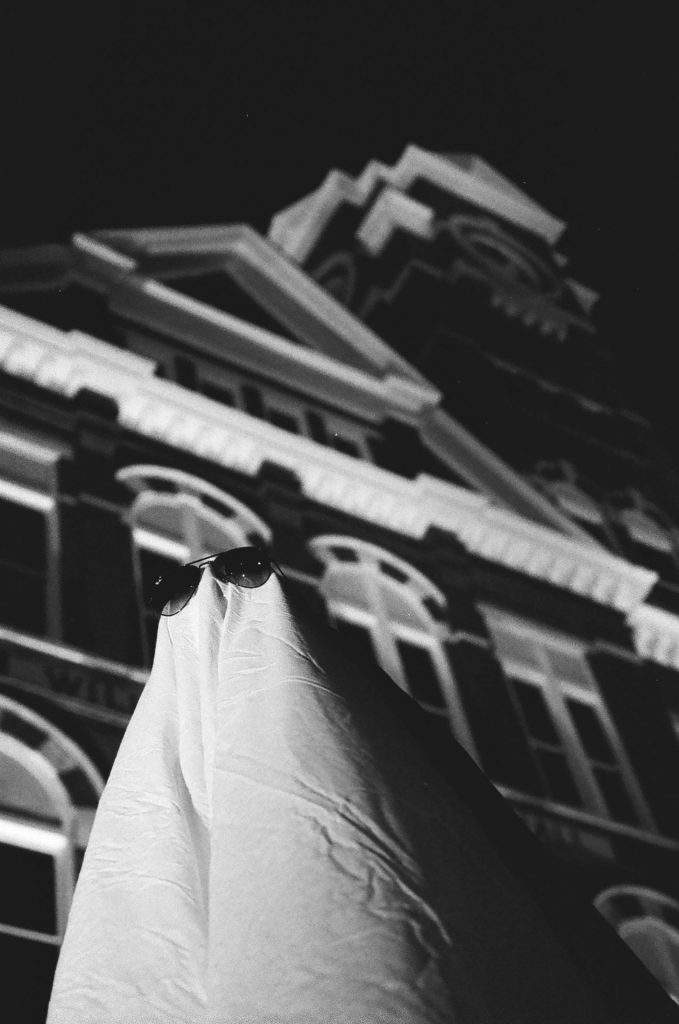 Ghost 1 in front of Samford Hall