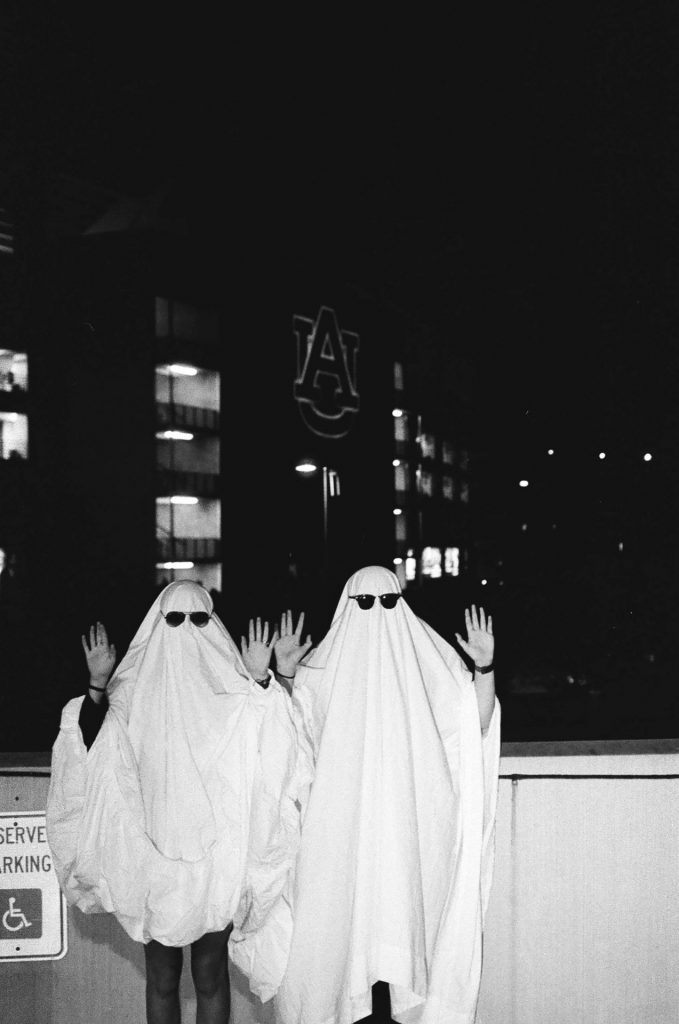 Ghosts with Hands Up