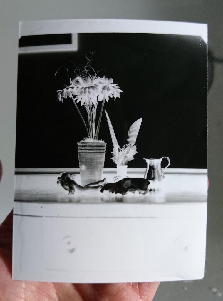 Paper negative drying
