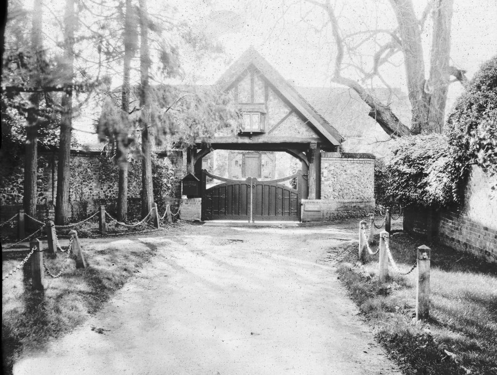 Photograph of gatehouse