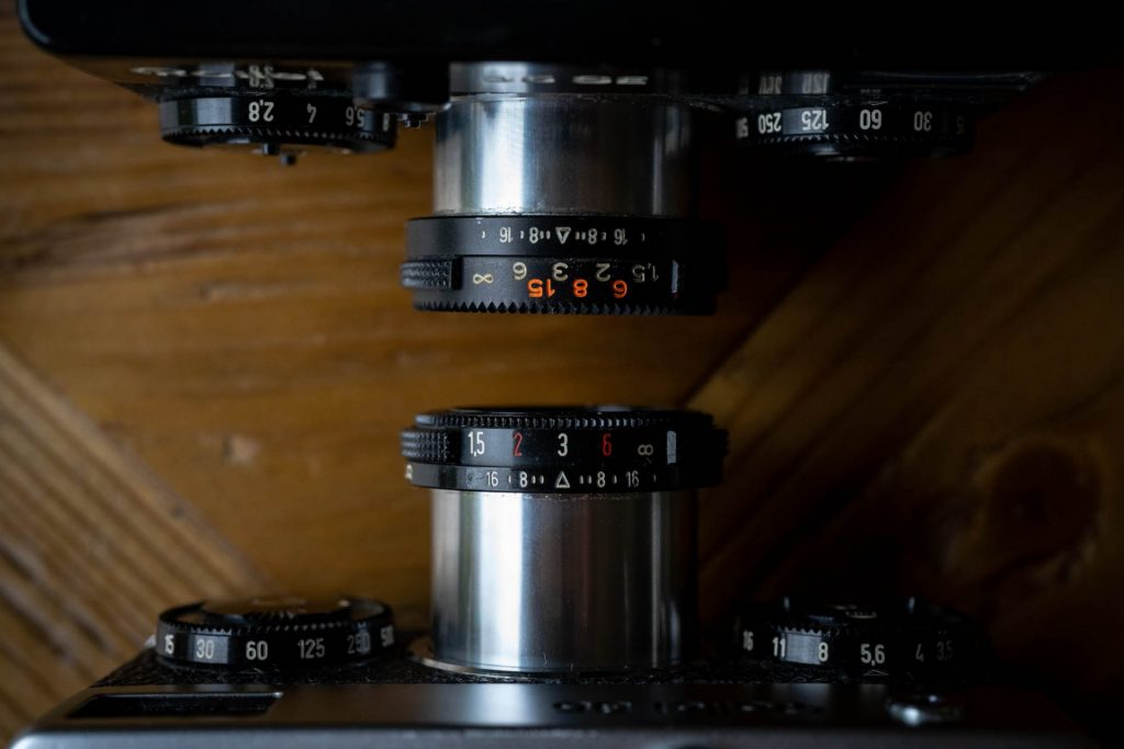 Rollei 35 and 35SE lenses