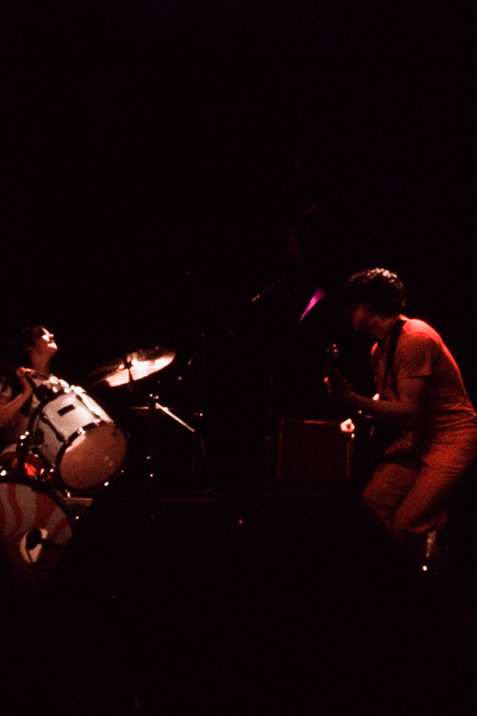 The White Stripes, Fillmore West, 2004, Rollei 35T