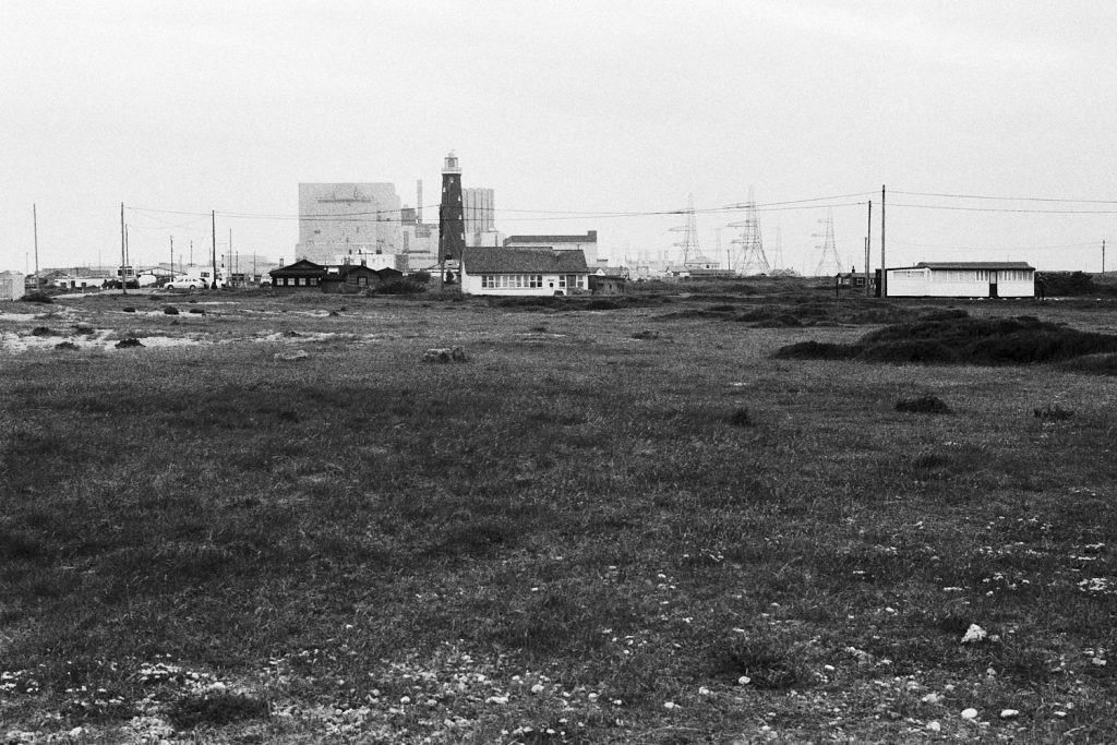 Dungeness nuclear power station.
