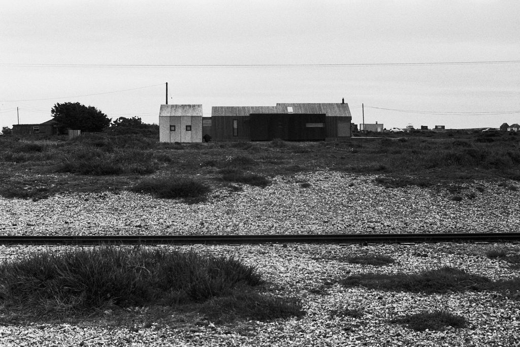 Cottage on the beach, Dungeness, Kent
