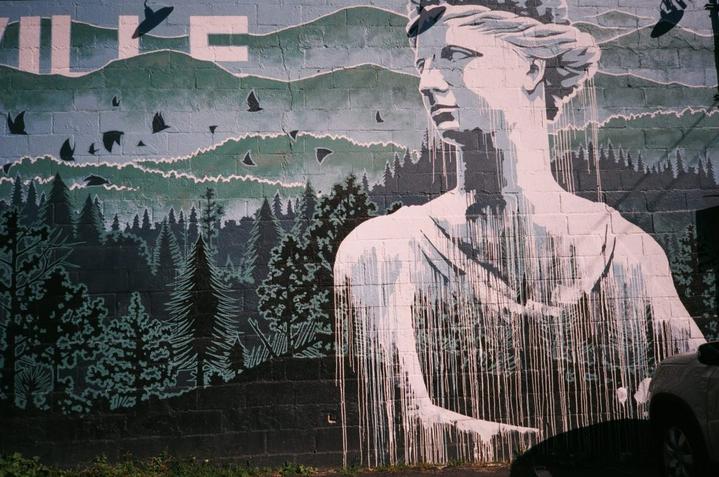 Haywood Common Mural, West Asheville
