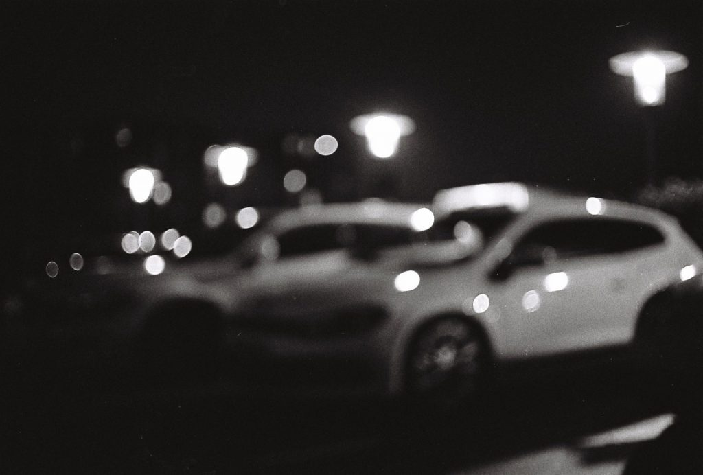 Out of focus car