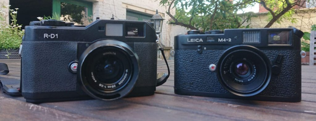 Epson R-D1 and Leica M4-2