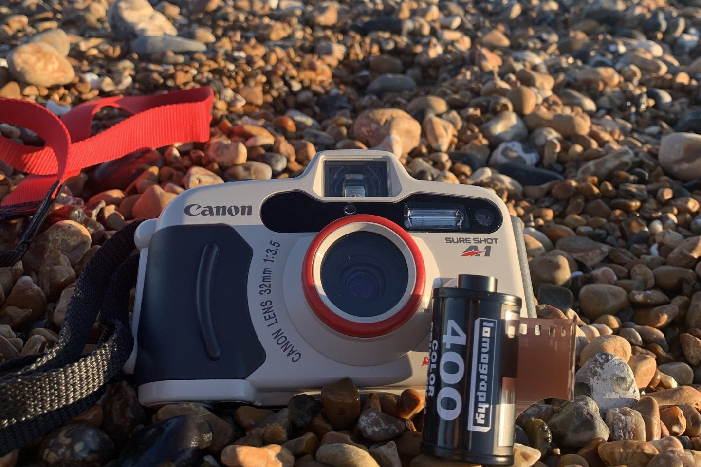 Canon Sureshot A1, ready to go for a swim