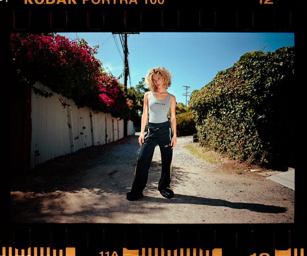 High contrast and saturated image using Portra film stock